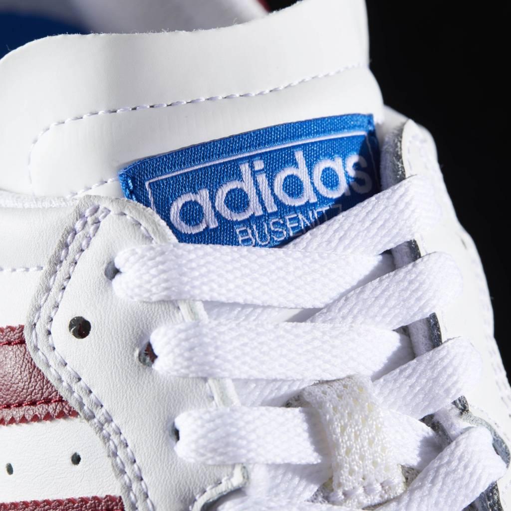 Adidas Adidas Busenitz Vulc RX - White/Burgundy