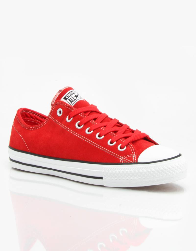 Converse Converse CTAS Low Suede - Red/White