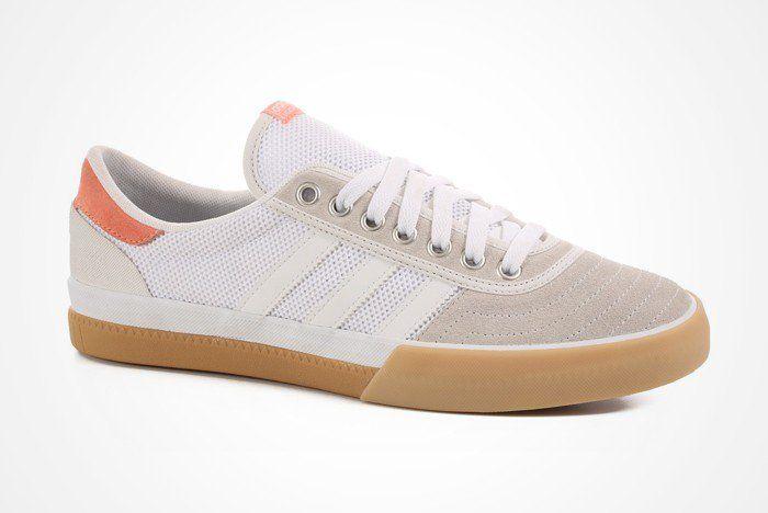 7441e3c02bb Adidas Lucas Premiere ADV - White Grey Pink - Ninetimes Skate Shop