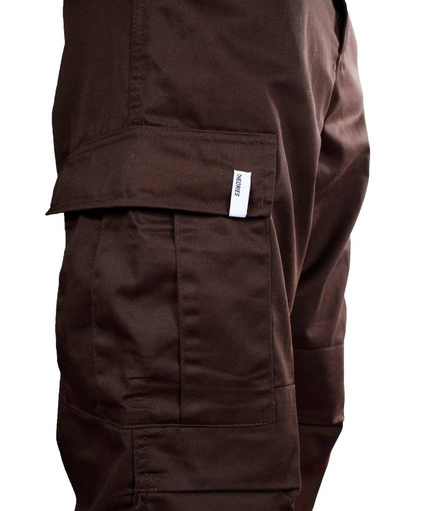 Theories Theories Swat Cargo Pant - Brown