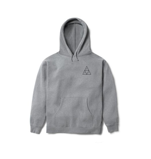 HUF Huf Triple Triangle Pullover Hoodie - Heather Grey