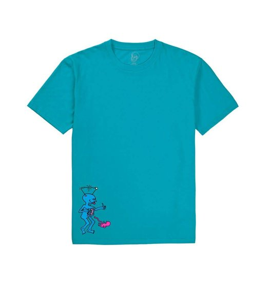Polar Polar/Dear Skating TV Kid Tee - Turquoise