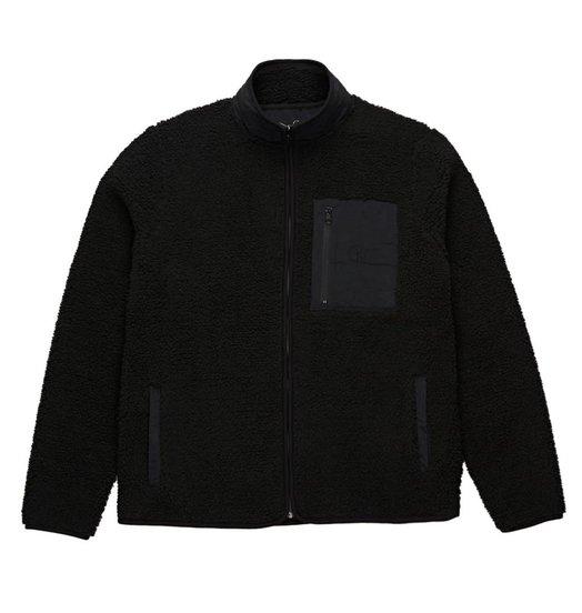 Polar Polar Teddy Fleece Jacket - Black