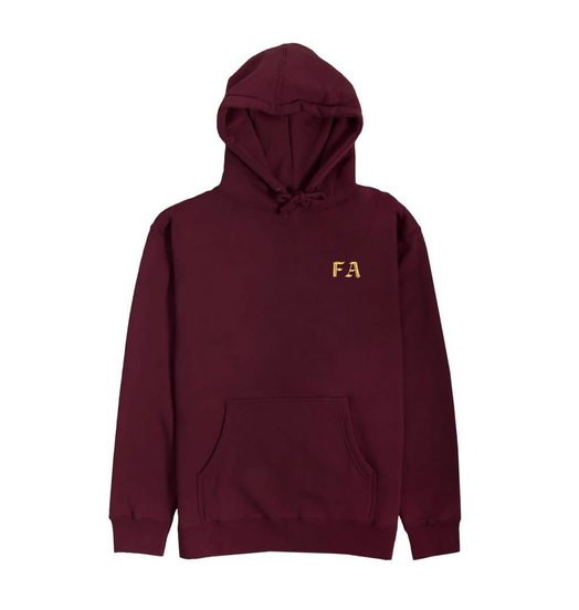 Fucking Awesome Fucking Awesome Statue Hands Hoodie - Maroon