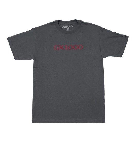 GX1000 GX1000 Og Logo Tee - Charcoal