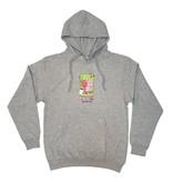 Frog Frog Bunny Hoodie - Grey