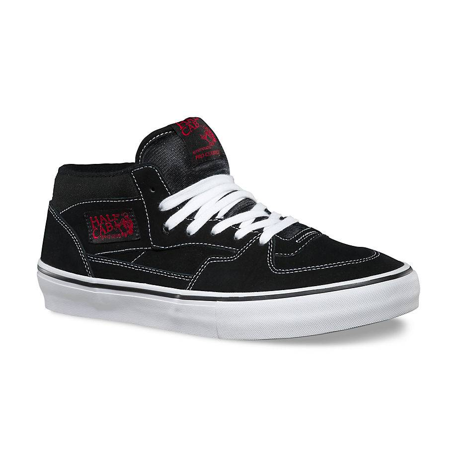Vans Vans Half Cab Pro - Black/White/Red