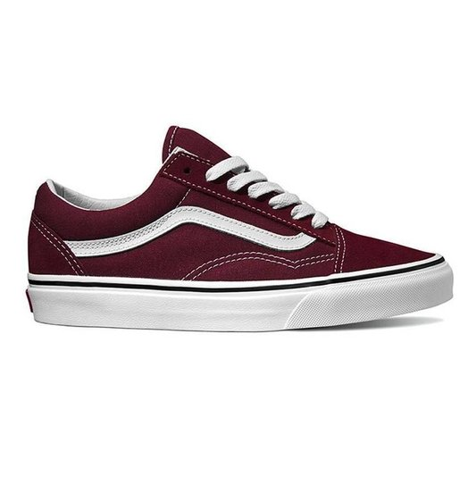 Vans Vans Women's Old Skool - Burgundy/True White