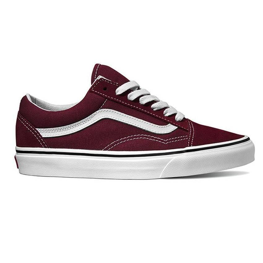 81c9cbf02cc0 Vans Vans Women s Old Skool - Burgundy True White - Ninetimes Skate Shop