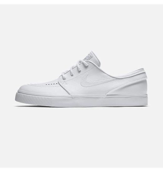 Nike Nike Janoski L - White/White/Wolf Grey