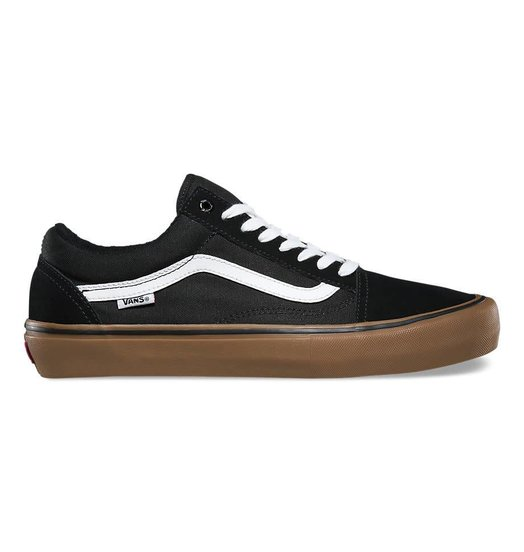 Vans Vans Old Skool Pro - Black/White/Medium Gum