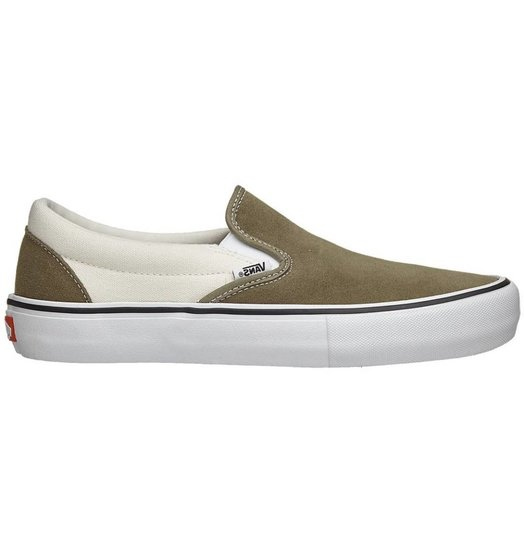 db6e3065bb9bfc Vans Vans Slip On Pro - Dusky Green Marshmallow