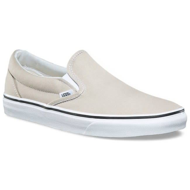 0a678aa844 Vans Vans Classic Slip On - Silver Lining True White - Ninetimes ...
