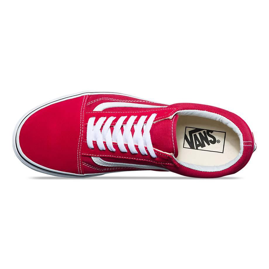Vans Vans Old Skool - Crimson/True White