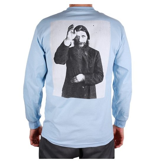 Theories Theories Rasputin Longsleeve - Light Blue