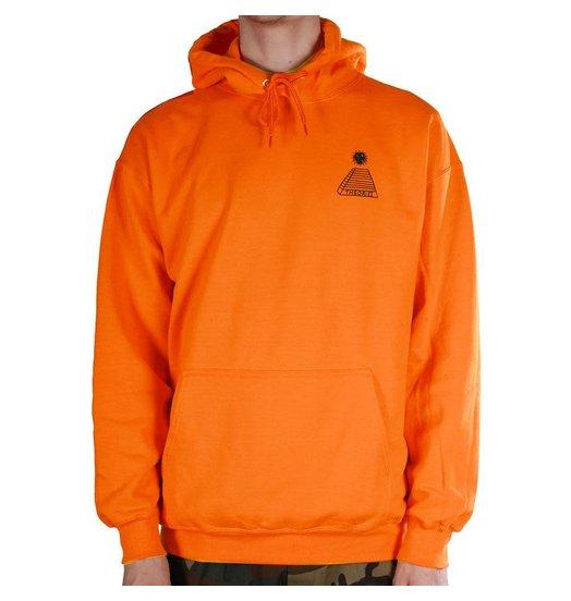 Theories Theories Scribble Hoodie - Orange/Black