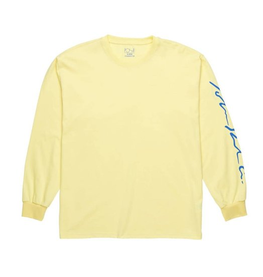 Polar Polar Signature Longsleeve - Light Yellow