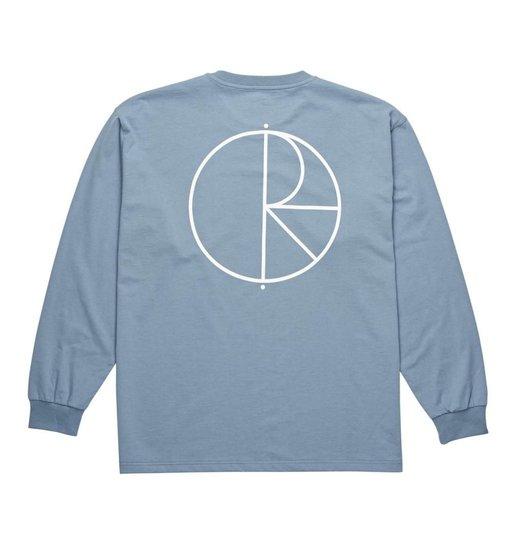 Polar Polar Stroke Logo Longsleeve - Captain's Blue