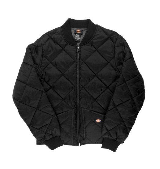 Dickies Dickies Diamond Quilted Nylon Jacket - Black