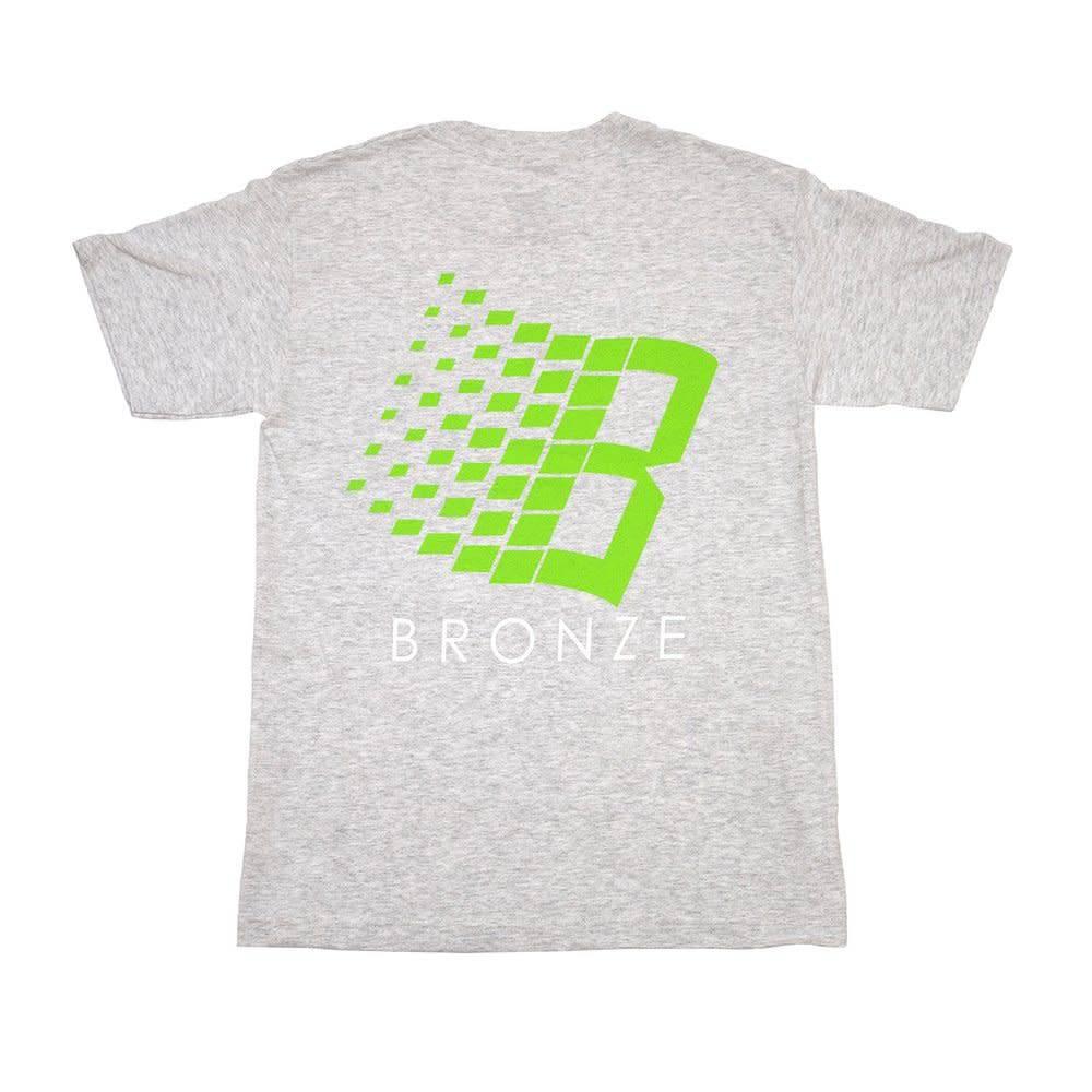 Bronze 56K Bronze B Logo Tee - Ash