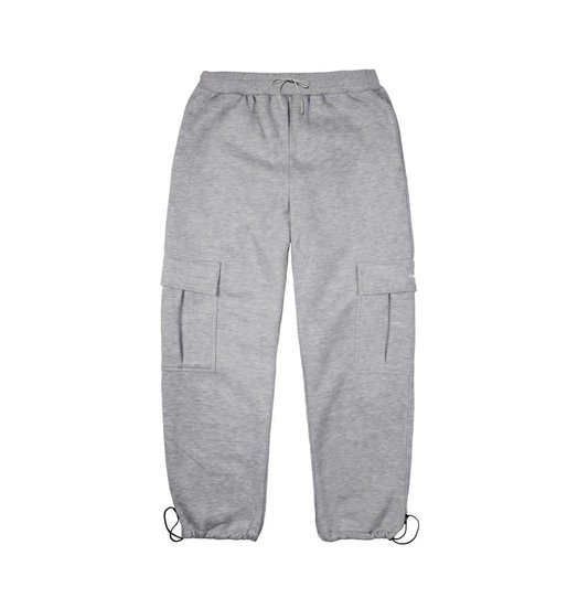 Dime Dime Cargo Sweatpants Heather Grey