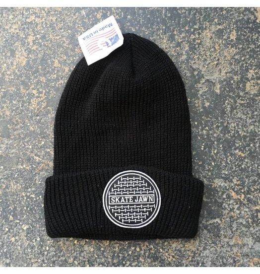 Skate Jawn Sewer Cap Beanie - Black