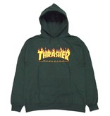 Thrasher Thrasher Flame Logo Hoodie - Forest Green