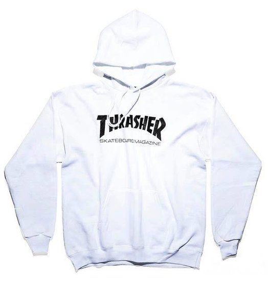 Thrasher Thrasher Skate Mag Hoodie - White