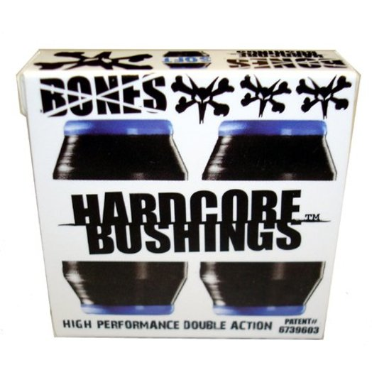 Bones Bones Hardcore Bushings Soft - Black