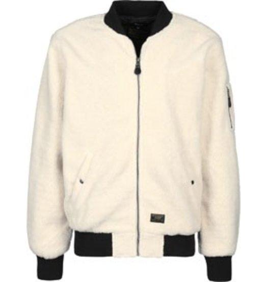 HUF Huf Sherpa Bomber Jacket - Natural
