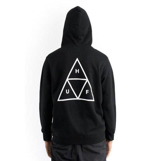 HUF Huf Triple Triangle Hoodie - Black