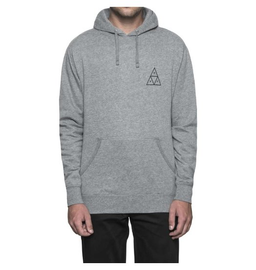 HUF Huf Triple Triangle Hoodie - Grey Heather