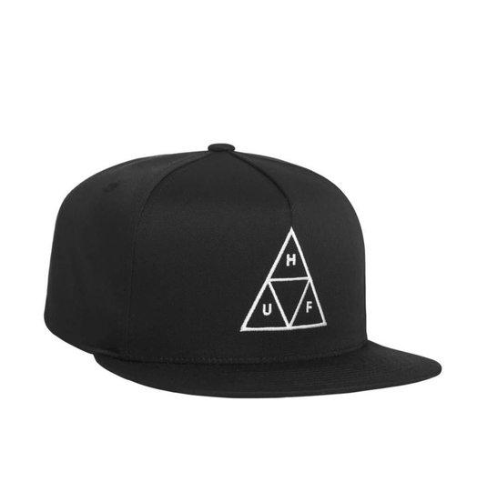 HUF Huf Triple Triangle Snapback Hat - Black