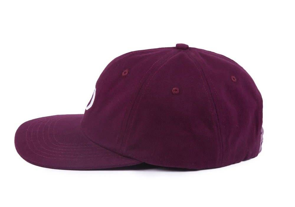 Dime Dime Snapback Cap - Burgundy