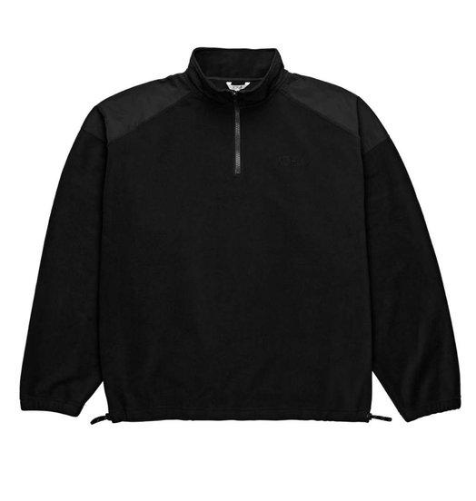 Polar Polar Lightweight Pullover Fleece - Black