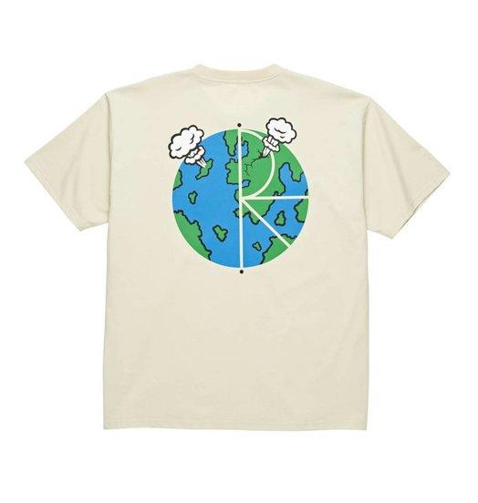 Polar Polar World Fill Logo Tee - Sand