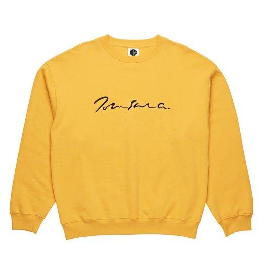 Polar Polar Signature Crewneck - Yellow