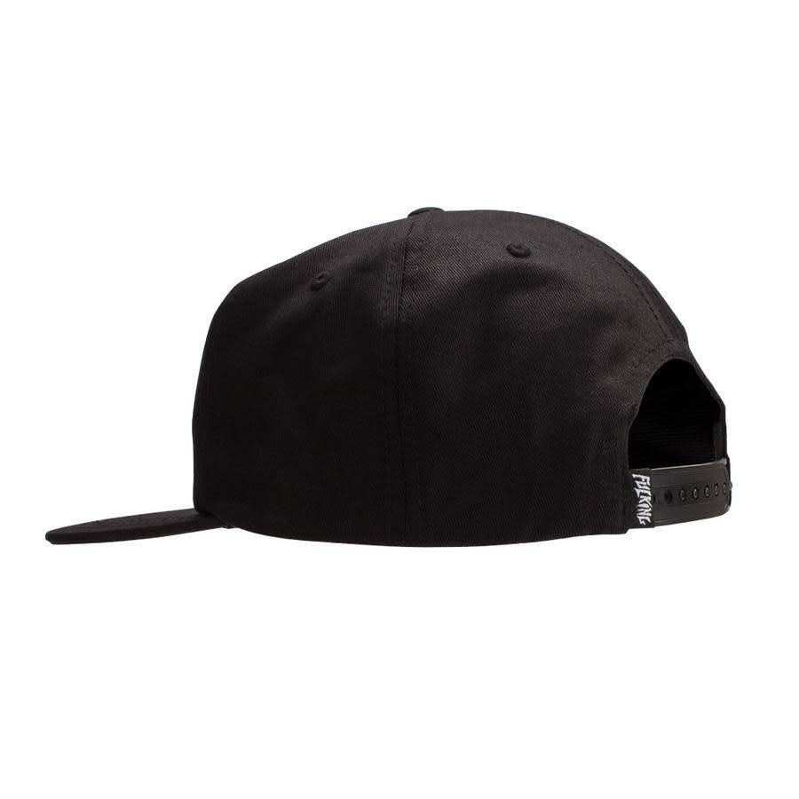 Fucking Awesome Fucking Awesome Spiral Hat - Black