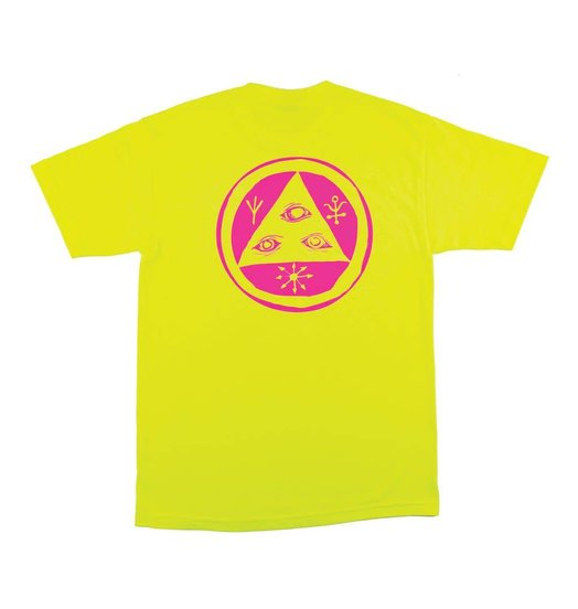 Welcome Welcome Talisman Mono Tee - Safety Green
