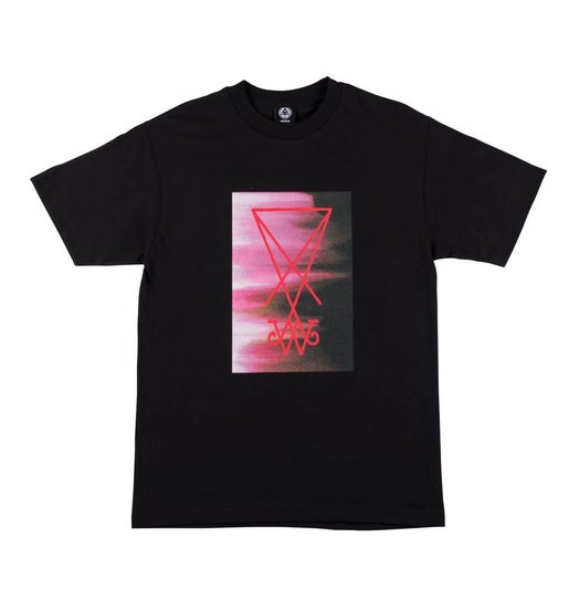 Welcome Welcome Smear Tee - Black