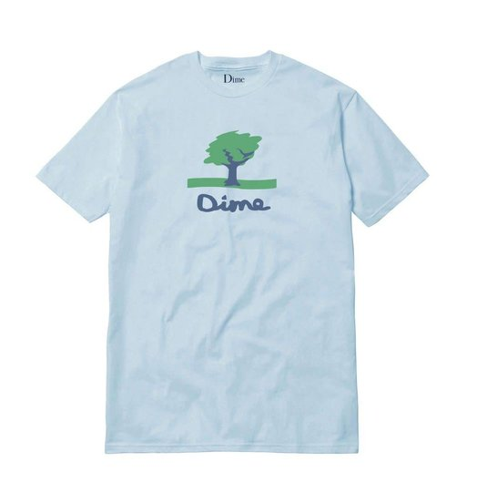 Dime Dime Channel 16 Tee - Light Blue