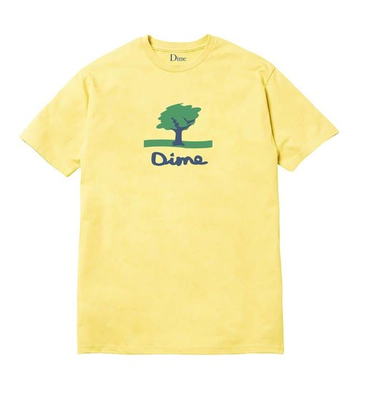 Dime Dime Channel 16 Tee - Light Yellow