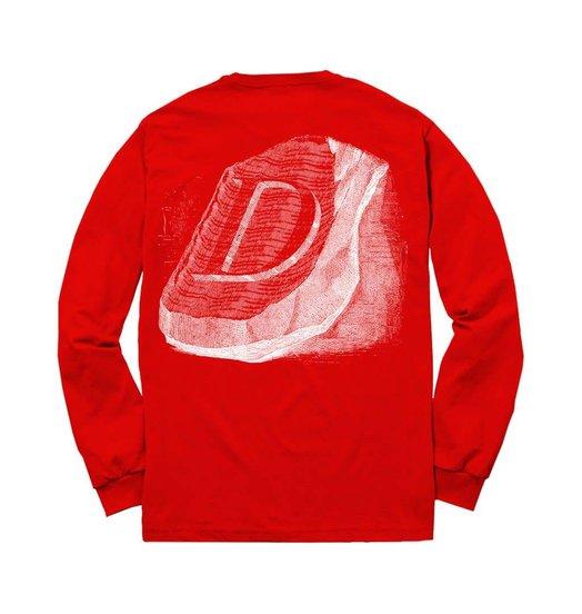 Dime Dime Stone Longsleeve - Red