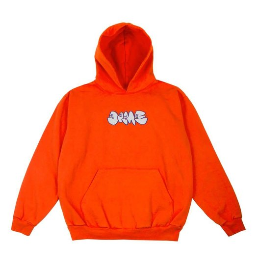 Dime Dime Heads Hoodie - Orange