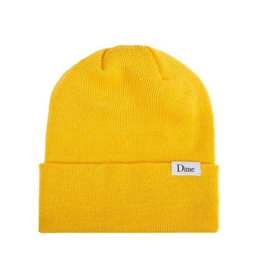 Dime Dime Classic Wool Beanie - Yellow