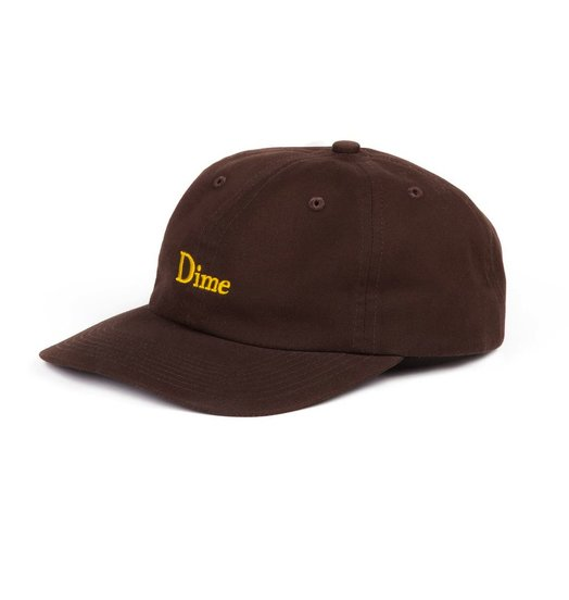 Dime Dime Classic 6 Panel - Brown