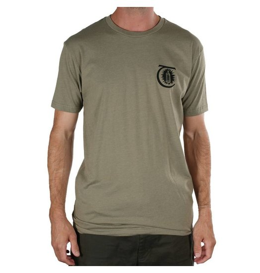 Theories Theories Morning Star Tee - Olive