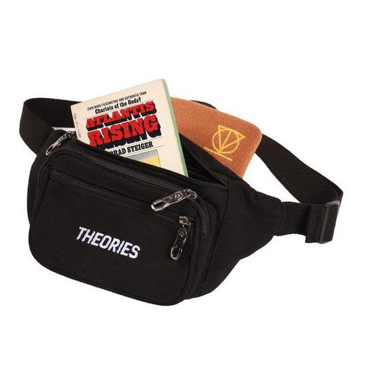 Theories Theories Stamp Day Pack - Black