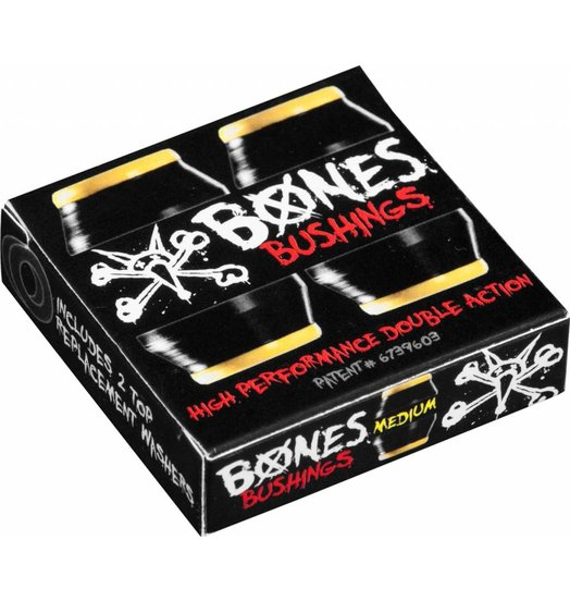Bones Bones Hardcore Bushings Medium - Black