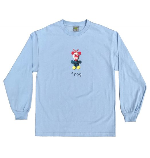 Frog Frog Mr. Greg L/S Baby Blue